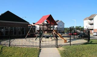 Apartments in Fayetteville with a playground