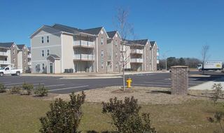 View of our Raeford apartments