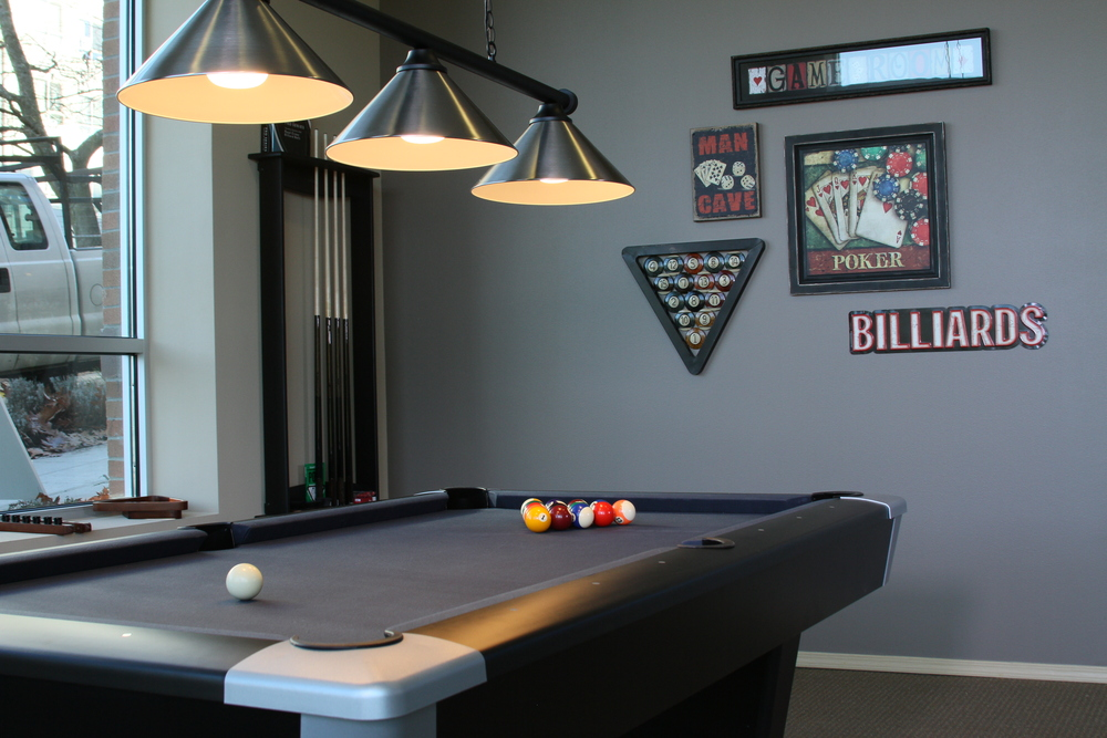 Iu billiard room