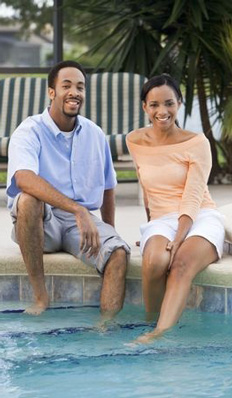 Couple at pool 1