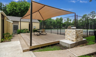 Apartments in houston with an outdoor patio