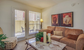 Apartments in webster with a private patio