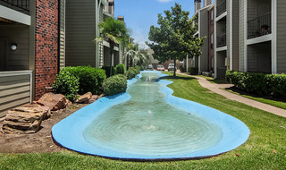 Apartments in houston with water features