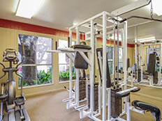 Fitness center at Savoy Manor