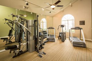 Gym at Laguna Niguel apartments