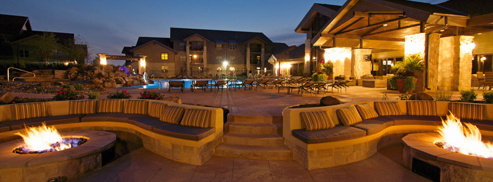 Pool and firepits 2