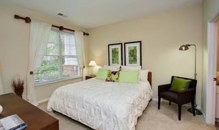 Raleigh NC apartments bedroom interior
