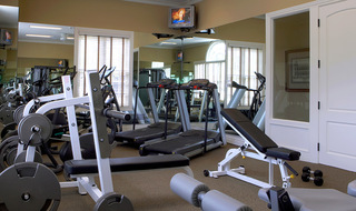 Fitness center at our apartments in Ypsilanti MI