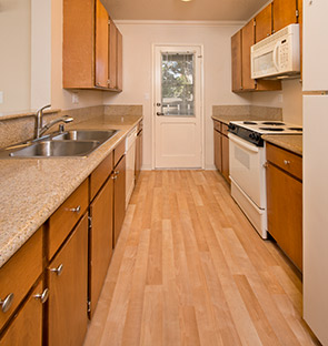 Pacific Grove apartments kitchen
