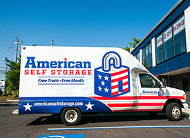 We offer the use of a moving truck to our self storage customers in New York