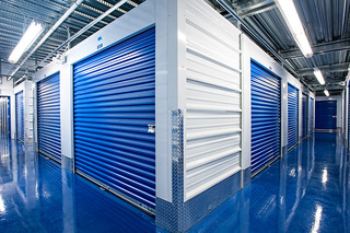 Our self storage in Cliffwood features clean and well lit interiors