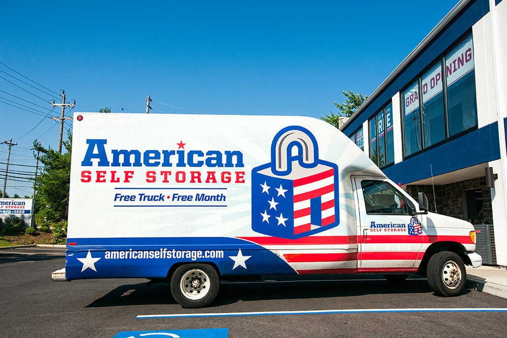 Free use of our moving van makes storing at our facilities in New Jersey and New York even better!