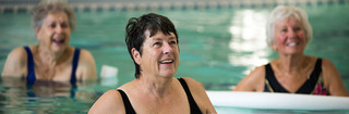 Senior living in vancouver aquatic fitness class