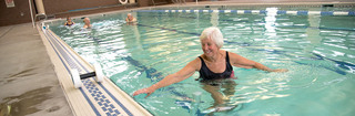 Vancouver senior living aquatic fitness