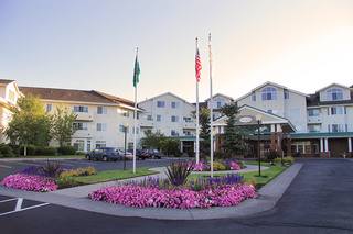 Front entrance at Vancouver Senior Living
