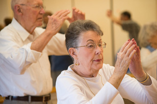 Tai Chi class at Vancouver Senior Living