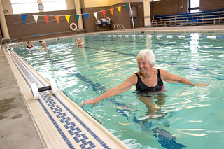 Swimming and fitness at Vancouver Senior Living