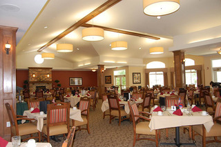 Dining room at Appleton senior living