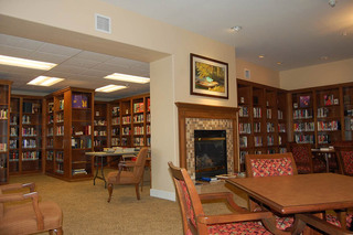 Library at Appleton senior living