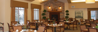 Helena senior living dining area