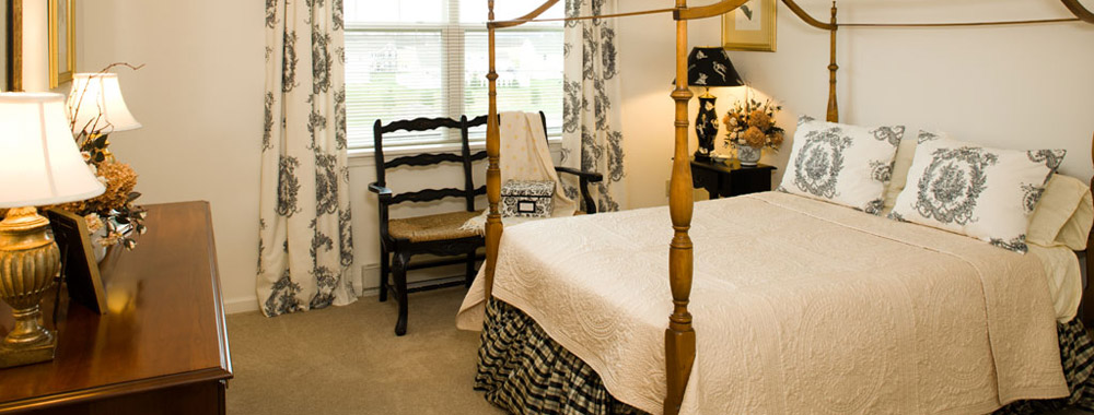 Palmyra senior living have spacious bedrooms