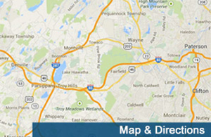 To see directions to our storage units in W Long Branch click this image