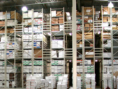 Document and record storage at Pouch Self Storage