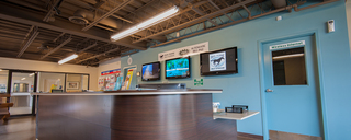 Smyrna self storage reception desk