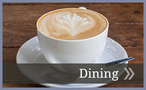 Information about The Manor at Market Square's dining services.