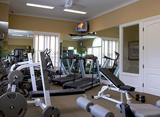 Apartments in Ypsilanti offer residents a fitness center to help stay in shape