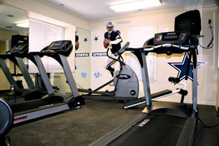 Apartments in Clarkston offer residents a fitness center to help stay in shape