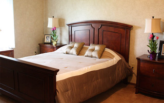 Spacious bedrooms at the senior living in Sewell