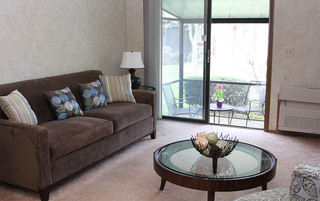 Senior living in Sewell have open modern rooms