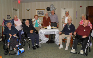 Boyertown senior living has residents renewing their vows