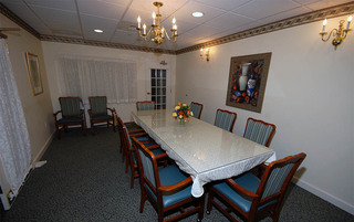 Elegant dining room in Boyertown senior living