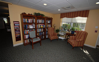 Senior living has a quiet library in Boyertown