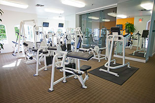 Apartments in Lake Mary offering fitness center