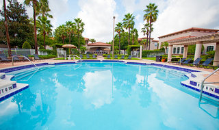 Swimming pool area at our Lake Mary apartments