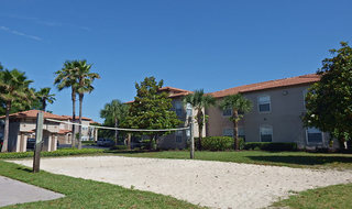 Volley ball court at Lake Mary apartments