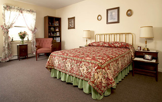 Weatherly senior living has bright bedrooms