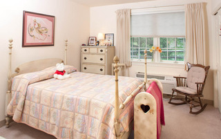 Spacious bedrooms in York senior living
