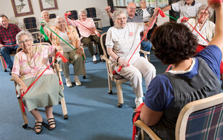 Exercise in York senior living