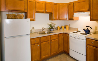 Modern kitchens in Palmyra senior living