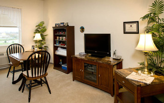 Elegant living rooms at the senior in Palmyra