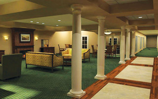 Spacious common room at the senior living in Gilbertsville