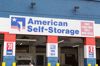 Self storage in the bronx loading bays