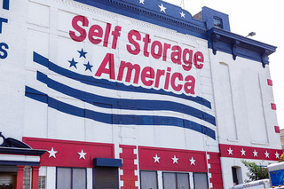 Brooklyn new york self storage exterior sign