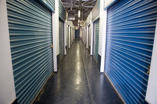 Hallway at long island self storage