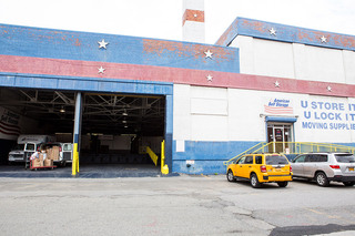 Self storage units in long island city exterior