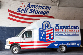 Self storage units in long island city moving truck